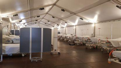 """Speciale tent aan Mariaziekenhuis onderzoekt mogelijke coronapatiënten: """"Ongeziene bundeling van krachten"""""""