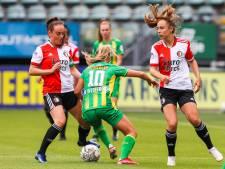 Feyenoord Vrouwen debuteert in eredivisie met gelijkspel: 'We gaan dit seizoen ook wel een keer op ons bek'