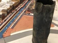 Een lege huls, maar toch een bijzondere vondst bij graafwerk haven Zevenbergen
