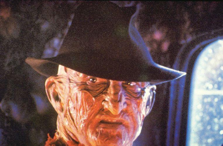 Freddy Krueger, de griezel uit 'Nightmare On Elm Street'. Beeld ANP
