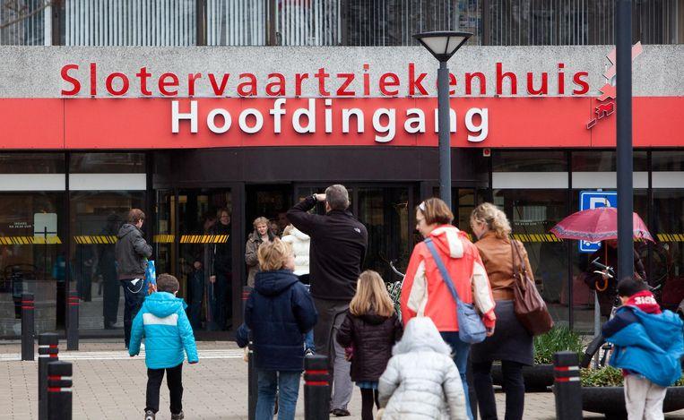 Het Slotervaartziekenhuis in 2010. Beeld anp