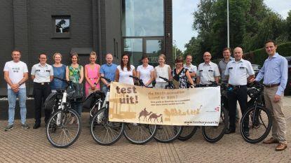 'De Testkaravaan' krijgt vervolg in de politiezone Regio Tielt: eerste elektrische fietsen zijn aangekocht