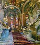 Het interieur van het Vredespaleis door Dorien van Diemen.