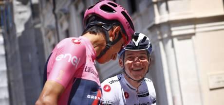 Remco Evenepoel, Egan Bernal et le peloton du Giro à l'épreuve des Strade Bianche