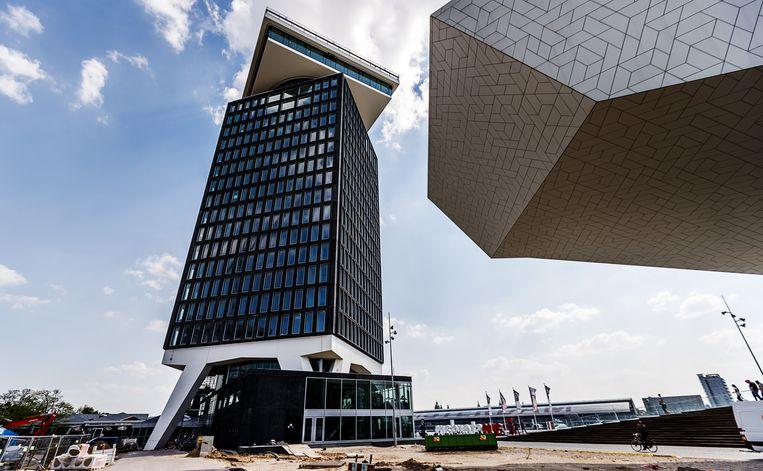 Het Shellgebouw in Amsterdam Beeld anp
