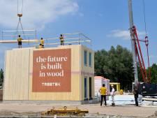 Geen beton, baksteen of staal, deze nieuwe woonwijk bestaat bijna hélemaal uit hout: 'De toekomst is hier'