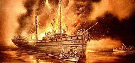 Nauwelijks bekende scheepsramp kostte Achterhoekers en Tukkers in 1847 het leven
