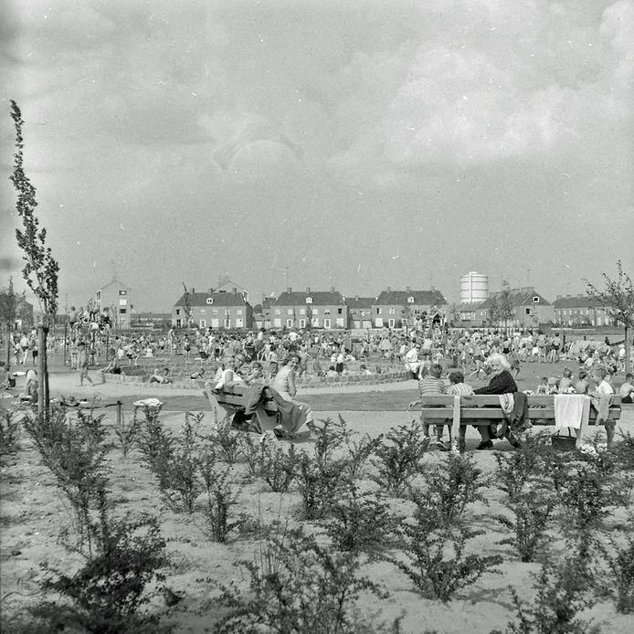 Speetuin in het Bonifaciuspark in Eindhoven.