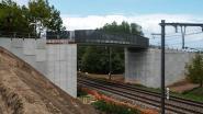 Langste composietbrug van het land verbindt fietsostrade tussen Antwerpen en Lier