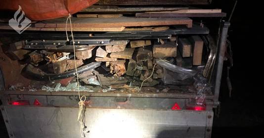 De politie kon de man aanhouden die achter de vele opvallende dumpingen van bouwafval zit.