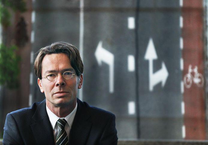 Onderzoeker Peter van der Knaap heeft zorgen over de verkeersveiligheid.