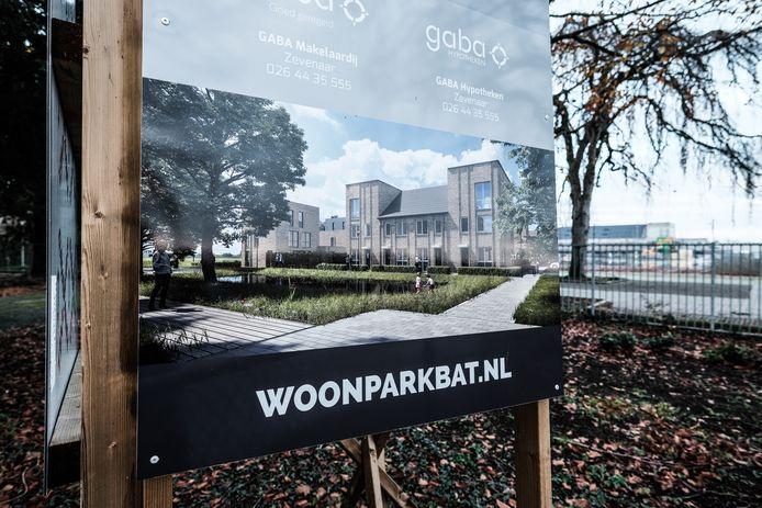 De nieuwe woonwijk in Zevenaar werd ontwikkeld onder de naam Woonpark BAT.