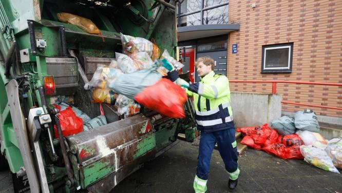 Oranje afvalzak levert gemeente jaarlijkse besparing van ruim 4 ton op
