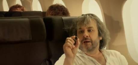 Veiligheidsvideo Air New Zealand in Hobbit-stijl, mét Peter Jackson
