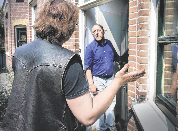 Babbeltruc aan de deur, foto ter illustratie.
