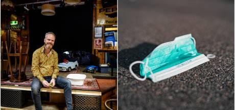 Gemist? Agressieve mondkapjesweigeraar in Enschede & Twentse horeca aarzelt over heropening