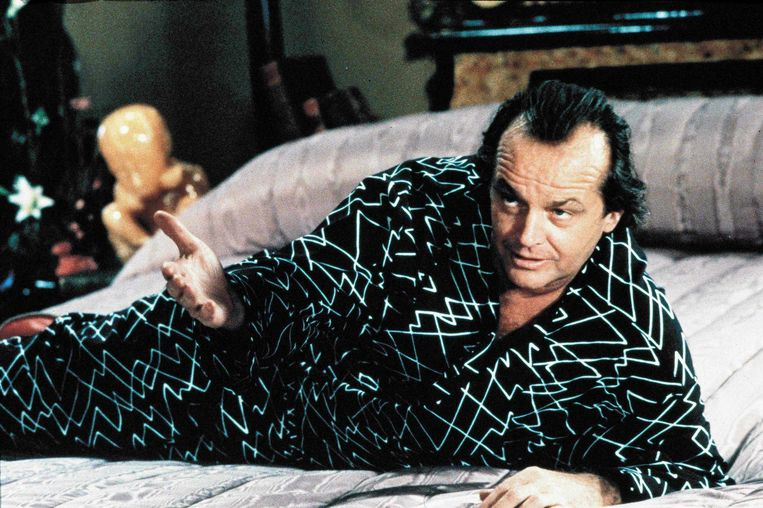 Jack Nicholson speelt de duivel in 'The Witches of Eastwick'. Beeld rv