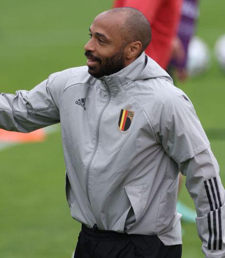 Thierry Henry dans le staff des Diables Rouges jusqu'au Mondial 2022