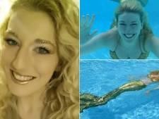 Britse vrouw klust bij als professionele zeemeermin
