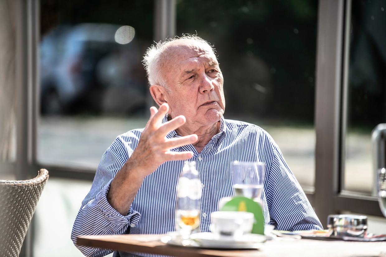Aimé Antheunis: 'Ik kijk nog altijd veel voetbal op tv, maar ik geef al eens voorrang aan 'F.C. De Kampioenen'  Beeld Marco Mertens