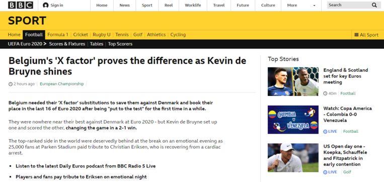 . Beeld BBC