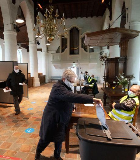 Na 574 jaar voor het eerst stemmen in de kerk van Zoelmond
