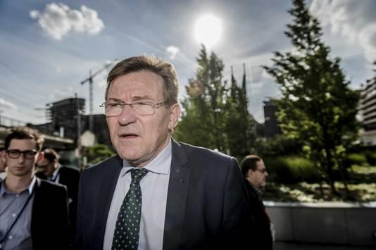 De Belgische minister van Financiën, Johan Van Overtveldt (N-VA).