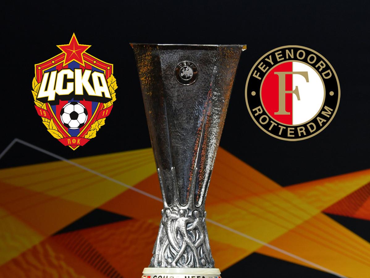 Liveblog CSKA - Feyenoord
