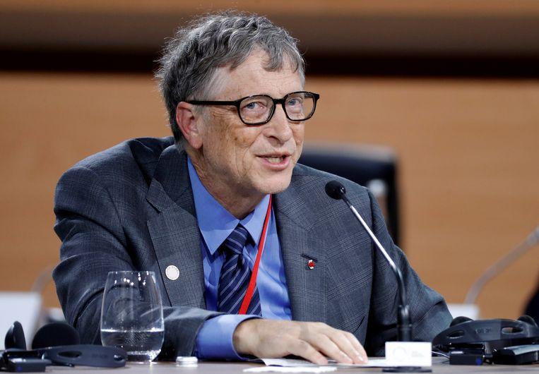 Bill Gates, medestichter van Microsoft.