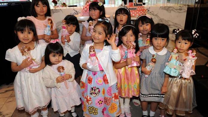 Japanse kinderen.