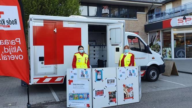 Stickeractie Rode Kruis Tienen lijdt onder coronacrisis