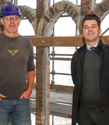 Woningbouw in de oude kerk in Sluis is met recht een monnikenwerk
