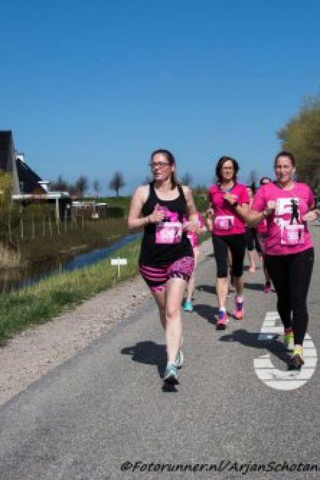 Magische grens van 10km/u bereikt bij Ladiesrun Goes