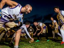 American football wortelt in Apeldoorn