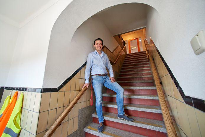 Bram Janssen, schoolhoofd van basisschool Op Weg in Vorstenbosch.  Fotograaf: Van Assendelft/Jeroen Appels
