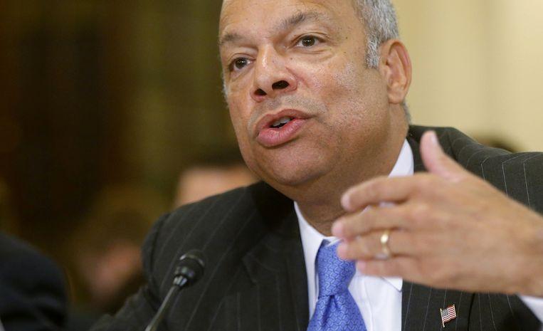 De Amerikaanse minister van Binnenlandse Veiligheid, Jeh Johnson Beeld ap