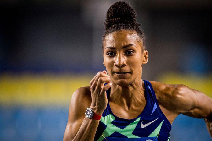 Nafi Thiam, espoir de médaille belge pour les championnats d'Europe Indoor.