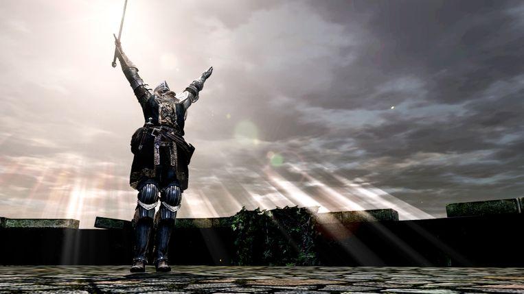'Dark Souls Remastered' is geen game voor iedereen door zijn hoge moeilijkheidsgraad, maar zijn duistere sfeertje grijpt u wel meteen bij de keel. Beeld Bandai Namco