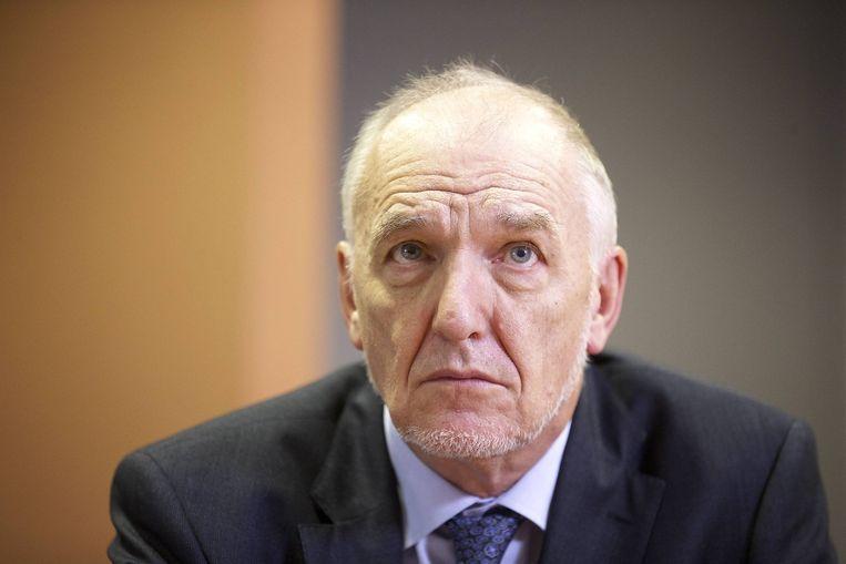 Jo Cornu leidde de NMBS sinds september 2013. Beeld belga