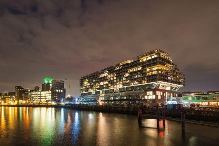 Appartementencomplex Fenix I in Rotterdam, winnaar van de Rotterdamse Architectuurprijs 2019.  Beeld Frank Hanswijk