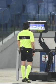 Videobewijs op grote schermen in Serie A