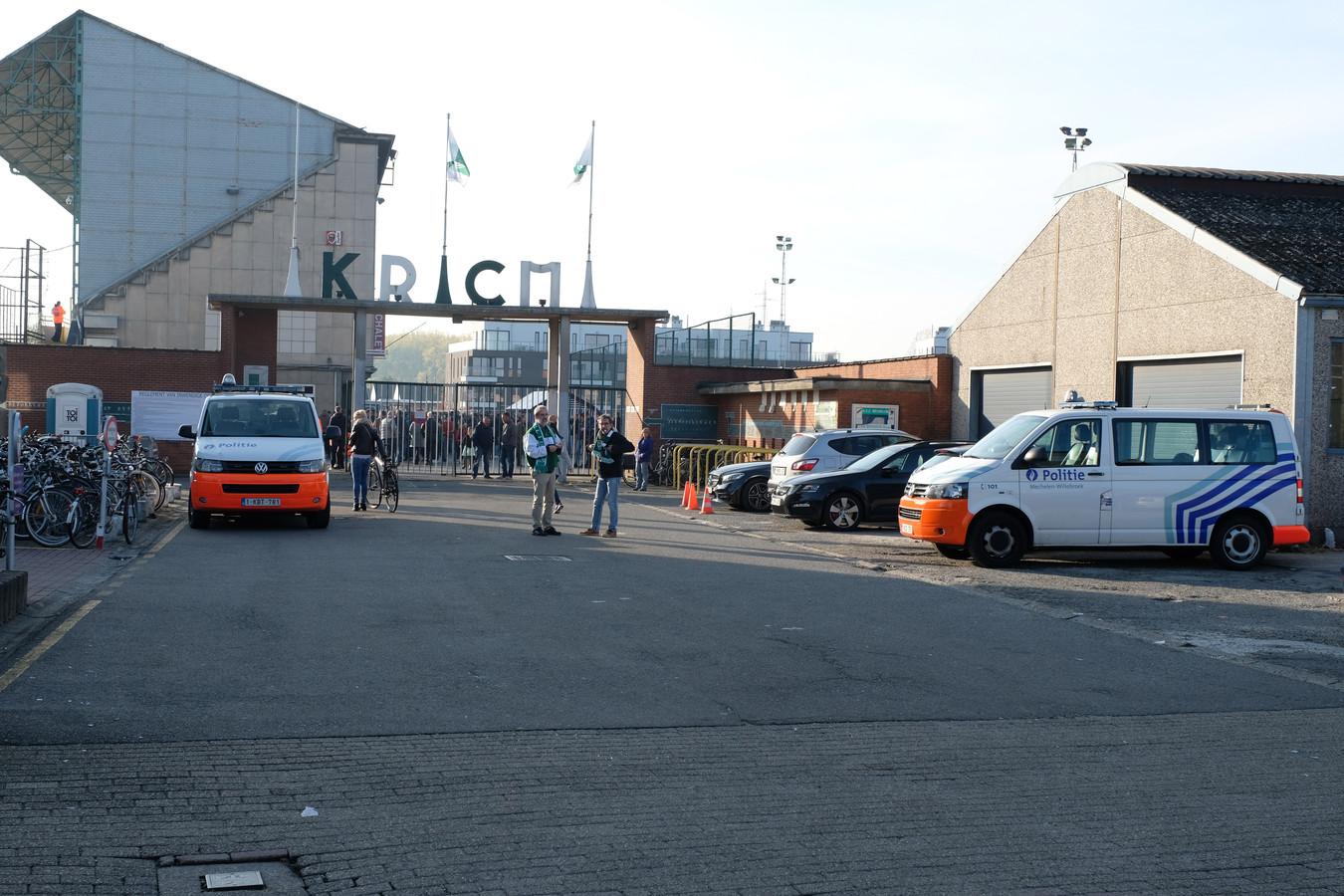 MECHELEN - Het voetbalstadion van Racing Mechelen.