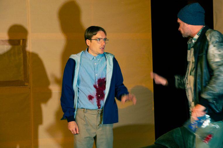 Het wonderbaarlijke voorval met de hond in de nacht van De Theateralliantie, regie Pieter Kramer. Beeld Sanne Peper