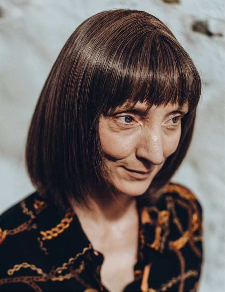 Delphine Lecompte: 'Ik voel een soort vrijheid die ik nooit eerder ervaarde. Ik voel me ook wellustiger dan ooit tevoren.' Beeld