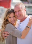 Yves Rénier et sa fille Samantha