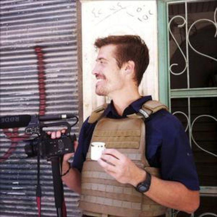 Fotograaf James Foley. Beeld AP