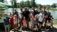 Steenputvissers leren jeugd knepen van het vak