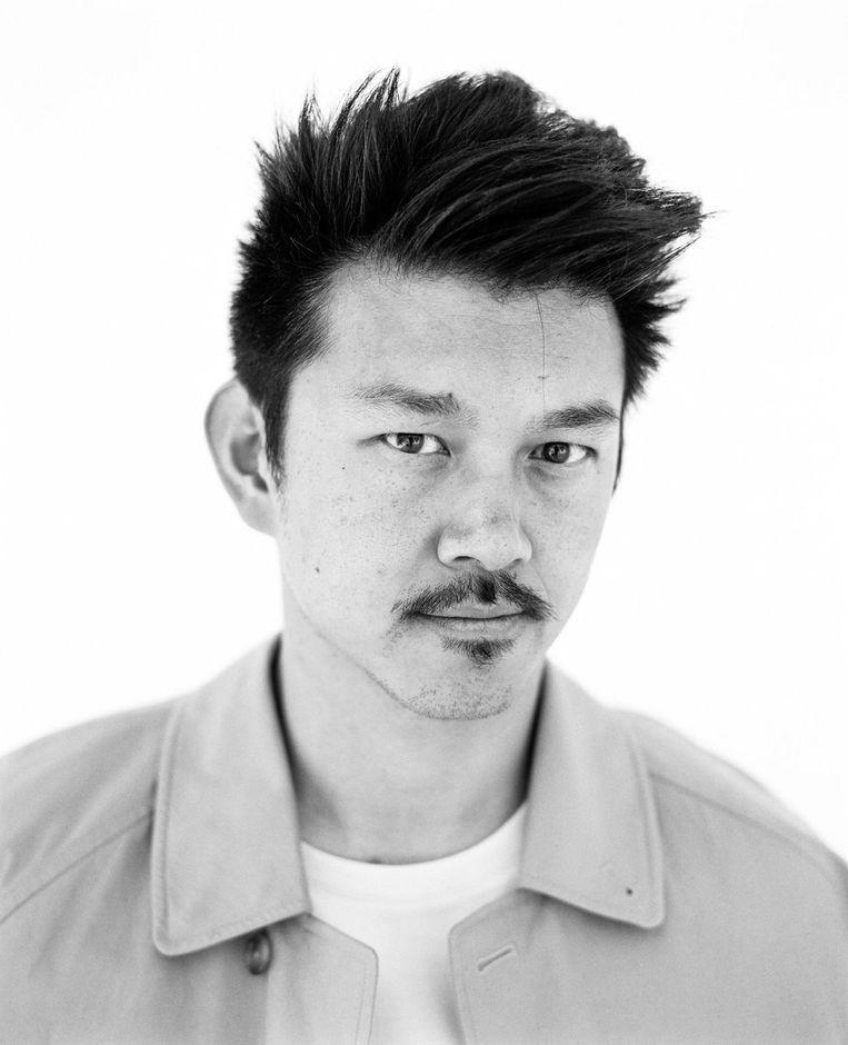 Pete Wu (35) is een Nederlands auteur met een Chinese migratieachtergrond. In 2019 bracht hij het boek 'De bananengeneratie' uit, over 'het dubbelleven van Chinese Nederlanders van nu.' Beeld RV
