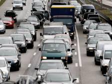 Nog weken 'langzaam' rijden op A12 tussen Gouda en Zoetermeer