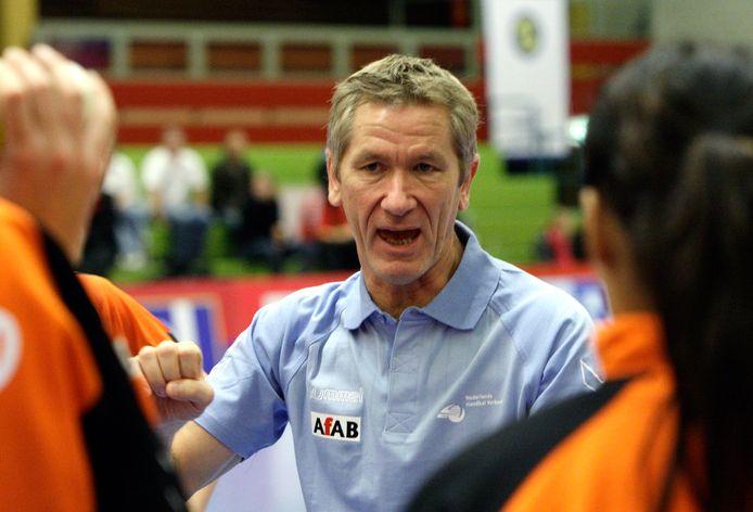 Sjors Röttger, hier nog actief als bondscoach.